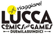 logo Lucca comics and games 2015